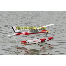 RC 4CH Electric FiberGlass Balsa Wood Float&Land Cessna 177 Airplane Plug N Fly