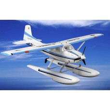 "RC 4CH Cessna 185 Skywagon Float Land Airplane Receiver Ready 59"" wingspan"