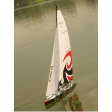 RC RTS 3CH Monsoon 900 Racing Yacht New Version COOL