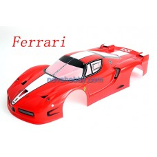 1/10 Ferrari 360 Spider painted RC Car Body Shell Red/Yellow A002