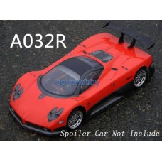 1/10 Pagani Zonda F painted RC Car Body Shell Red Silver A032