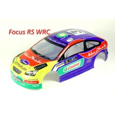 1/10 Ford Focus RS WRC Painted RC Car Body Spoiler Blue A044