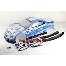 1/10 Lexus SC430 painted RC Car Body Shell Blue Red A003