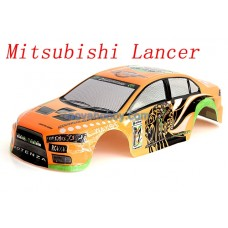 1/10 Painted RC Car Ford Mitsubish Lancer Shell 190mm with Spoiler (B043)