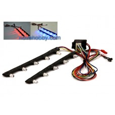 RC LED Chassis 7-style Light System for 1/10 Car