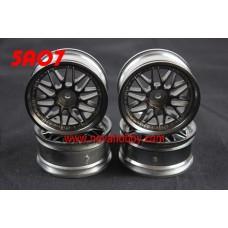 1/10 RC Car 20 Spoke  Wheel Rim Set 4pcs (5A07)