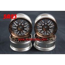 1/10 RC Car 20 Spoke  Wheel Rim Set 4pcs (5A23)