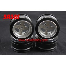 1/10 RC Car 4 Spoke  Wheel Rim Set 4pcs (5A38S)