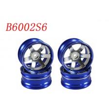 1/10 RC Car CNC Aluminium Wheel Rim Set 4pcs (b6002s6)