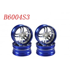 1/10 RC Car CNC Aluminium Wheel Rim Set 4pcs (b6004s3)