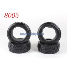1/10 RC Car Onroad Performance Rubber Racing Tire Tyre with Sponge 4pcs 8005