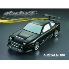 1/10 Nissan 180SX 195mm RC Car Transparent Body