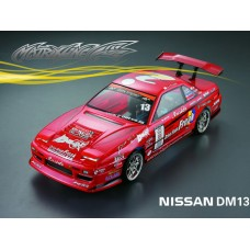 1/10 Nissan DM13 195mm RC Car Transparent Body