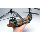 RC RTF 3CH Super Chinook Cargo Transport Helicopter