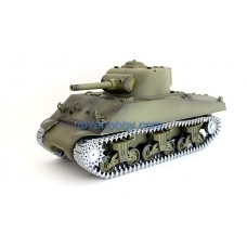 1/16 RC Smoke & Sound Henglong USA M4A3 Sherman Tank 105mm Main Gun Premier Version