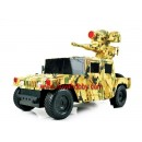 RC 1/12  RTR Military Humvee Missile Carrier BB Shoot with light