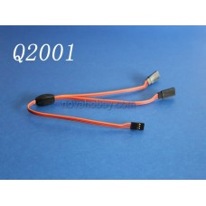 30CM 11.8 inch RC Y Servo Extension Leads Splitter JR / Hitec