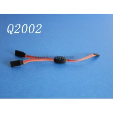 15CM 6 inch RC Y Servo Extension Leads Splitter JR / Hitec