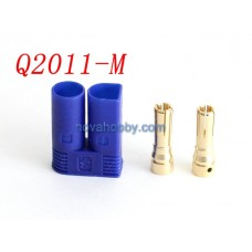 1 Male EC5 Style Bullet Connector Plug Adapter