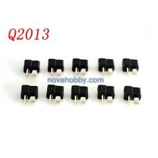 10 PCs Male T-Plugs Deans Style Connectors Plug