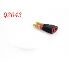 Bullet Male 4mm To Female T-Plug Deans Connector Adapter No wires