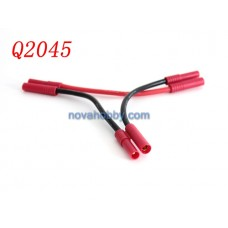 HXT 4mm Series Connector with 10awg Wire