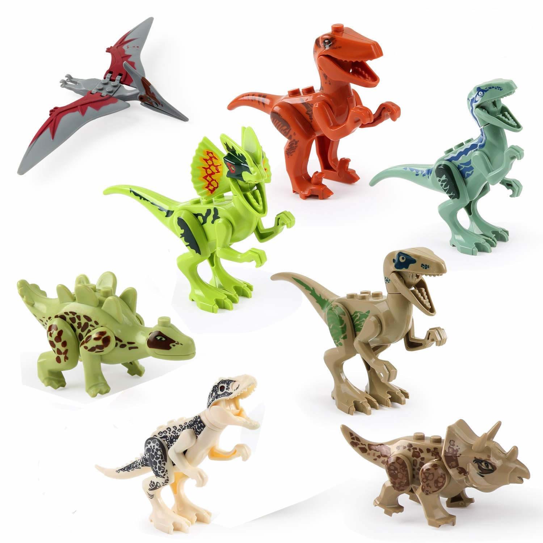 20 Pack Dinosaur DIY Building Blocks 3D Puzzle Educational Playset Toys for Kids