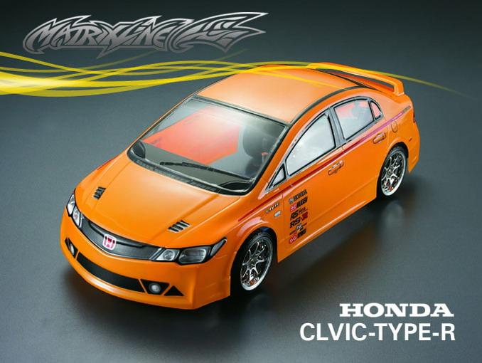 1//10 Honda SHV-010-GT  190mm RC Racing Car Transparent Clear Body Shell 201018